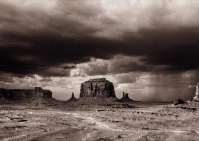 Monument Valley - John Ford Point, Sepia Series, Edition 1/3
