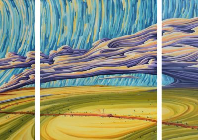 Storm Chase Triptych
