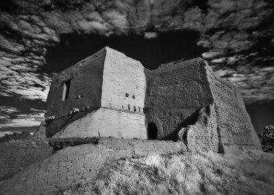 Pecos National Historical Park - Mission Southeast Side Cloud Halo