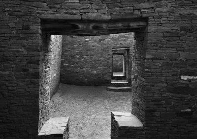 Chaco Culture National Historical Park - Pueblo Bonitio Square Doorway