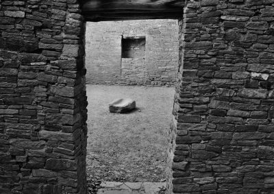 Chaco Culture National Historical Park - Pueblo Bonito Doorway And Groundstone