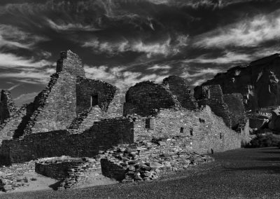Chaco Culture National Historical Park - Pueblo Bonito Front