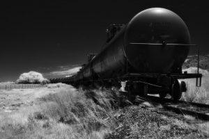 Del Norte Black Train Cars, Edition 1 of 3