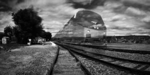 Lamy Disappearing Train Pinhole, Edition 1 of 3