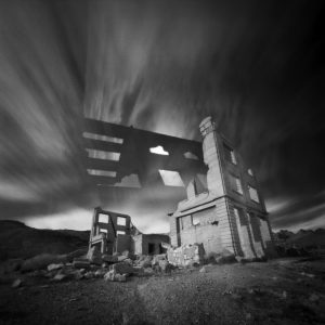Rhyolite Bank (Pinhole, Double Exposure), Edition 1 of 3