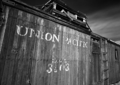 Rhyolite Caboose Pinhole, Edition 1 of 3